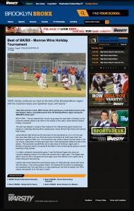 Monroe Wins Holiday Tournament